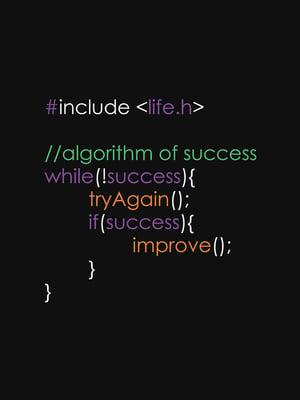 algorithm for success